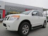 2012 Blizzard White Nissan Armada SL #83724192