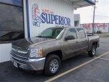 2013 Graystone Metallic Chevrolet Silverado 1500 LT Crew Cab #83723877