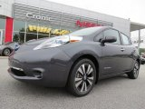 2013 Metallic Slate Nissan LEAF SL #83724188
