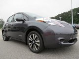 Metallic Slate Nissan LEAF in 2013
