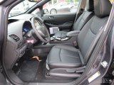 2013 Nissan LEAF SL Black Interior
