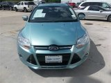 2012 Frosted Glass Metallic Ford Focus SEL 5-Door #83723871