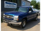 2003 Arrival Blue Metallic Chevrolet Silverado 1500 Regular Cab 4x4 #83724084