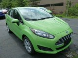 2014 Green Envy Ford Fiesta SE Sedan #83723950