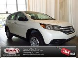 2013 White Diamond Pearl Honda CR-V LX #83723761