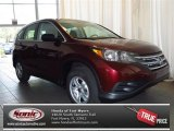 2013 Basque Red Pearl II Honda CR-V LX #83723760