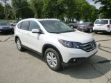 2013 White Diamond Pearl Honda CR-V EX-L AWD #83724364
