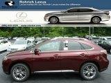 2013 Claret Red Mica Lexus RX 450h AWD #83724060