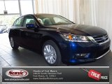 2013 Obsidian Blue Pearl Honda Accord EX Sedan #83723754