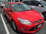 2012 Race Red Ford Focus SEL Sedan #83723843