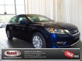 2013 Obsidian Blue Pearl Honda Accord EX Sedan #83723753