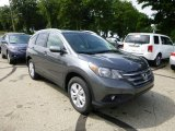 2013 Polished Metal Metallic Honda CR-V EX-L AWD #83724350
