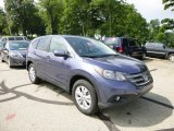 2013 Twilight Blue Metallic Honda CR-V EX AWD #83724348
