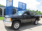 2013 Black Chevrolet Silverado 1500 LS Regular Cab 4x4 #83723911