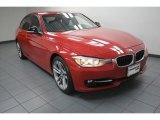 2012 Melbourne Red Metallic BMW 3 Series 328i Sedan #83724255