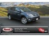 2013 Shoreline Blue Pearl Toyota RAV4 Limited AWD #83723711