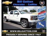 2014 Summit White Chevrolet Silverado 1500 LT Crew Cab 4x4 #83724426