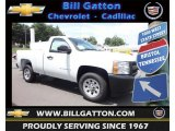 2013 Summit White Chevrolet Silverado 1500 Work Truck Regular Cab #83724421