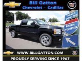 2013 Black Chevrolet Silverado 1500 LTZ Extended Cab 4x4 #83724420