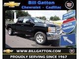 2013 Black Chevrolet Silverado 1500 LT Extended Cab 4x4 #83724419