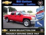 2013 Victory Red Chevrolet Silverado 1500 LT Crew Cab 4x4 #83724416