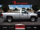 2012 Silver Ice Metallic Chevrolet Silverado 1500 Work Truck Regular Cab #83723798