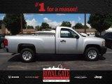 2012 Silver Ice Metallic Chevrolet Silverado 1500 Work Truck Regular Cab #83723798
