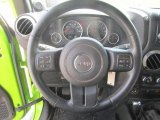 2012 Jeep Wrangler Sport 4x4 Steering Wheel
