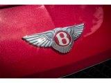 Bentley Continental GT V8 2013 Badges and Logos