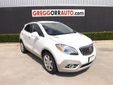 2013 White Pearl Tricoat Buick Encore Leather #83724212