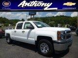2014 Summit White Chevrolet Silverado 1500 WT Crew Cab 4x4 #83774997