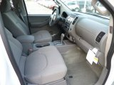 2013 Nissan Frontier SV V6 Crew Cab 4x4 Front Seat
