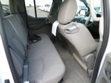 2013 Nissan Frontier SV V6 Crew Cab 4x4 Rear Seat