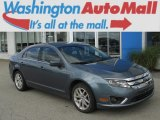 2011 Steel Blue Metallic Ford Fusion SEL V6 #83774423