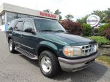 1997 Deep Jewel Green Pearl Ford Explorer XLT 4x4 #83774409