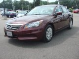 2011 Basque Red Pearl Honda Accord LX Sedan #83775080