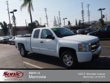 2008 Summit White Chevrolet Silverado 1500 LT Extended Cab #83774632