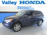 2010 Royal Blue Pearl Honda CR-V EX AWD #83774295