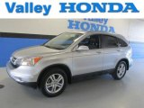 2011 Alabaster Silver Metallic Honda CR-V EX-L 4WD #83774292
