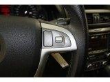 2009 Pontiac G8 GT Controls