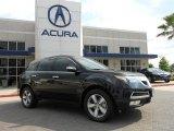 2011 Crystal Black Pearl Acura MDX  #83774282
