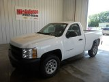 2013 Summit White Chevrolet Silverado 1500 Work Truck Regular Cab #83775052