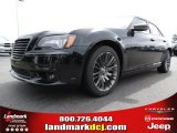 2013 Phantom Black Tri-Coat Pearl Chrysler 300 C John Varvatos Limited Edition #83774486