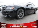 2013 Phantom Black Tri-Coat Pearl Chrysler 300 C John Varvatos Limited Edition #83774477