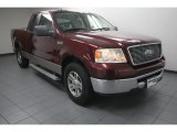 2006 Dark Toreador Red Metallic Ford F150 XLT SuperCab #83774746