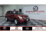 2012 Cayenne Red Nissan Rogue SV #83774372
