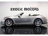 2012 Platinum Silver Metallic Porsche 911 Carrera S Cabriolet #83775011
