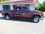 2003 Dark Carmine Red Metallic Chevrolet Silverado 2500HD LS Crew Cab 4x4 #83775009