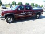 2003 Chevrolet Silverado 2500HD Dark Carmine Red Metallic