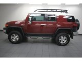 2010 Toyota FJ Cruiser Brick Red